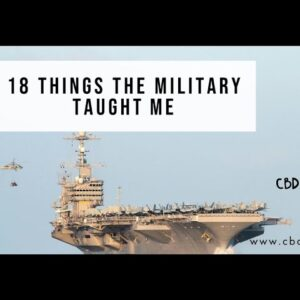 18 things the military taught me