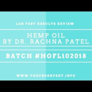 BEST CBD OIL- LAB TEST RESULTS REVIEW - BATCH #HOFL102018