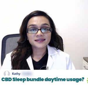 Can CBD That I Take To Sleep Better Help With Anxiety During The Day?