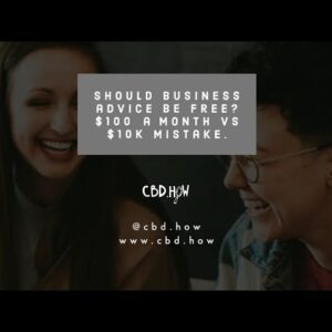 CBD business consultations worth $100 a month or $10k business mistake?
