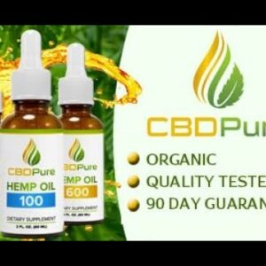 CBD Pure CBD Oil Review - Must See Before Buying Hemp CBD Oil Pros & Cons