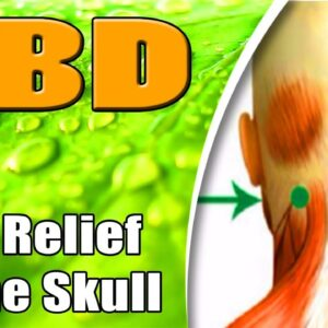 CBD to the Base of The Scull topically - azWHOLEistic