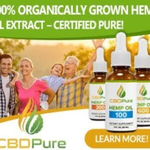 CBDPure Oil Review And Benefits