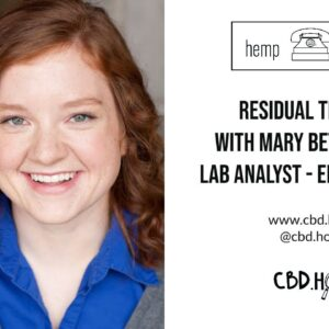 Hemp Hotline - Residual Solvents with Encore Labs