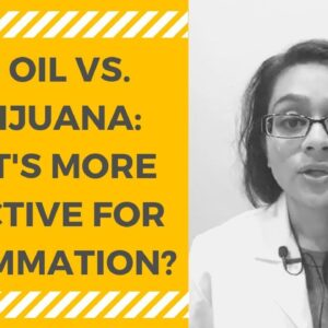 How CBD Oil Affects Inflammation (CBD Oil or Marijuana for Inflammation)