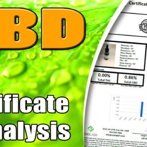 How To Read A CBD Certificate of Analysis - azWHOLEistic