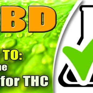 How to Test CBD For THC (In Home THC Drug Test) - azWHOLEistic