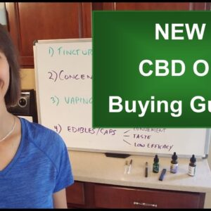 New CBD Oil Buying Guide