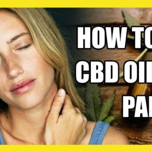 🍳How Does CBD Oil work for pain ?. ✅CBDPure Best oil for pain🏆👍