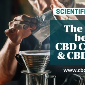 There is no CBD in the coffee after brewing CBD Coffee & CBD Tea!