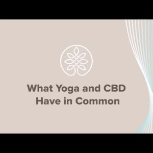 What CBD and Yoga Have In Common
