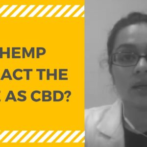 What's Hemp Extract? Is Hemp Extract the same as CBD?
