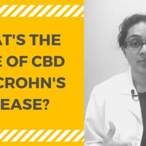 WHAT'S THE DOSE OF CBD FOR CROHN'S DISEASE? [0:07]