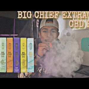 BIG CHIEF PREMIUM CBD VAPE PEN / CANNABIS EFFECTS WITHOUT GETTING HIGH ??