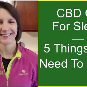 CBD For Sleep | 5 Things You Need To Know