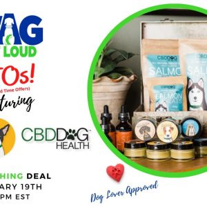REPLAY: Wag Out Loud LTOs Show Featuring CBD Dog Health