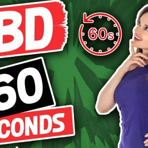 What is CBD? | CBD Oil Explained in 60 seconds | PurDrops by EMPUR Sciences