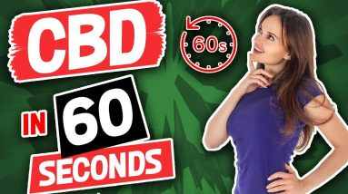 What is CBD?   CBD Oil Explained in 60 seconds   PurDrops by EMPUR Sciences