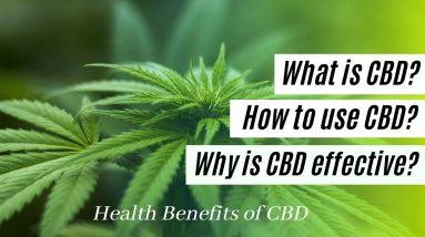 WHAT IS CBD? WHY IS CBD EFFECTIVE? HOW TO USE CBD?