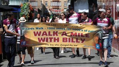 Billy and Charlotte Caldwell urge the government to support the