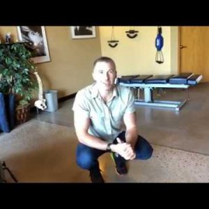 Longmont Chiropractor shows how to stretch the low back