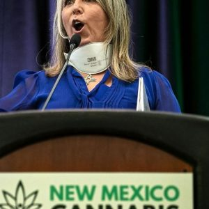 The Governor of New Mexico speaks at the Cannabis Conference